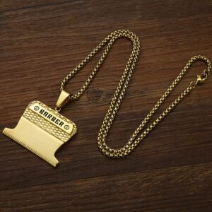 Valily-Jewelry-Golden-Barber-Pendant-Necklace-stainless-steel-Shiny-Shaver-Haircut-Necklaces-jewelry-for-Man-Women-4